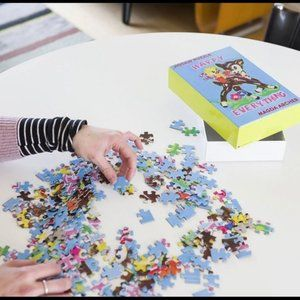 NEW Magda Archer Happy Everything Jigsaw Puzzle